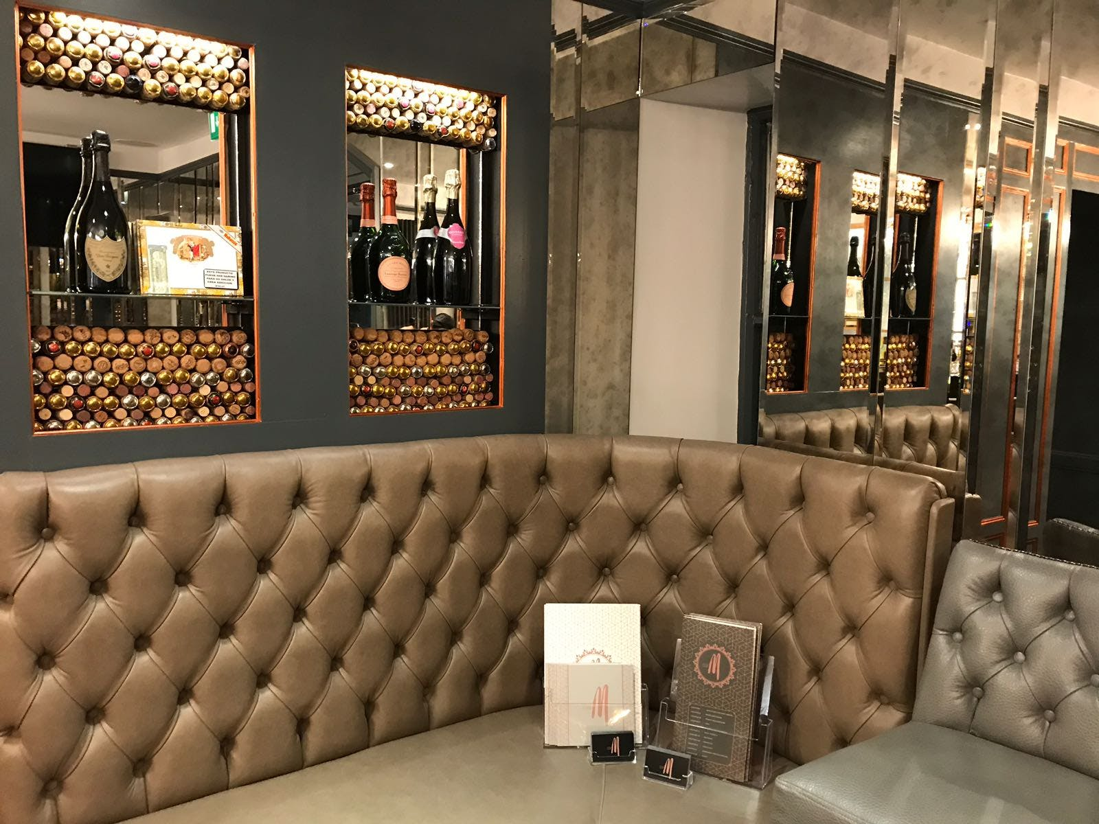 Bar Seating Area