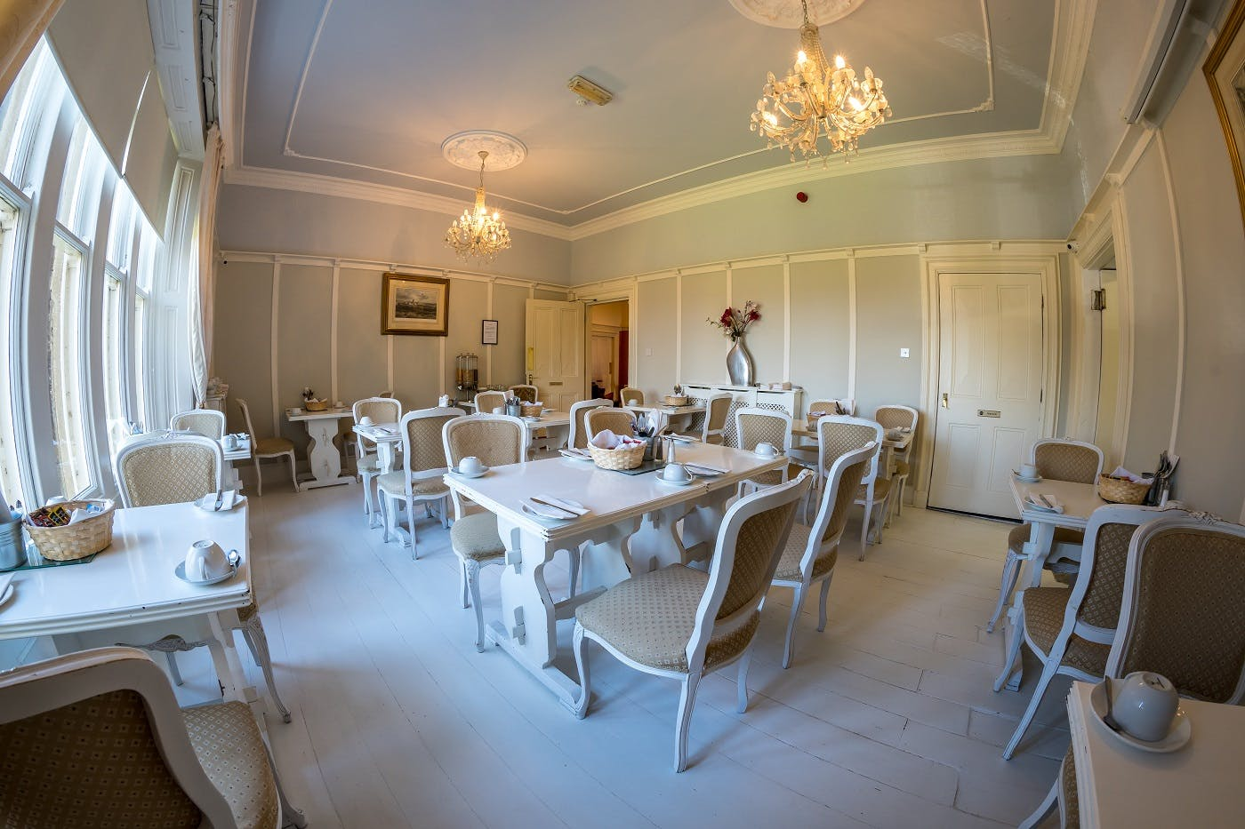 Farnley Tower Breakfast Room