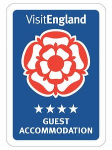 4 Star Guesthouse accommodation by AA and Visit England