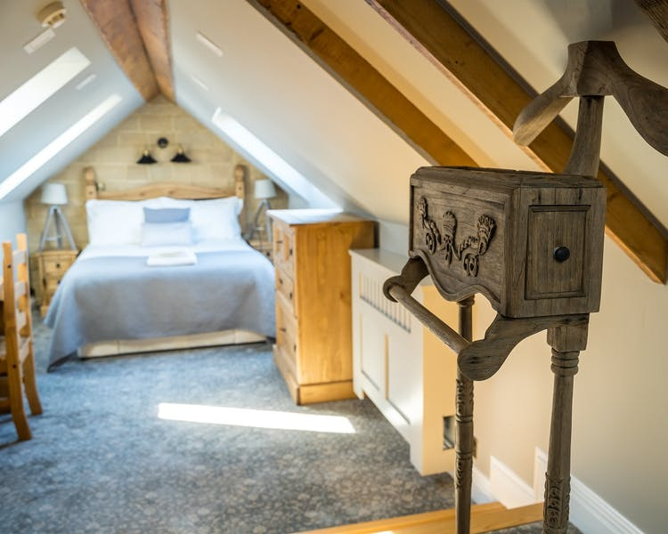 The Cathedral Deluxe Double Bedroom with views