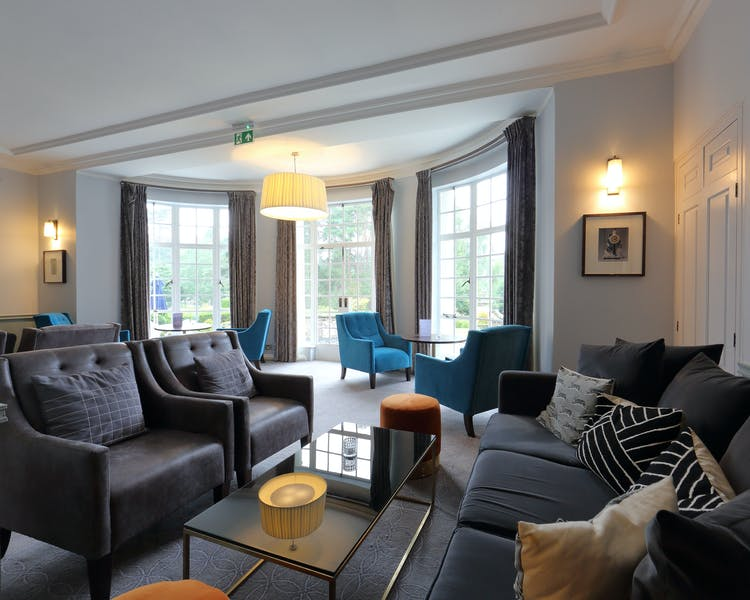 Spacious and comfortable lounge at Gorse Hill