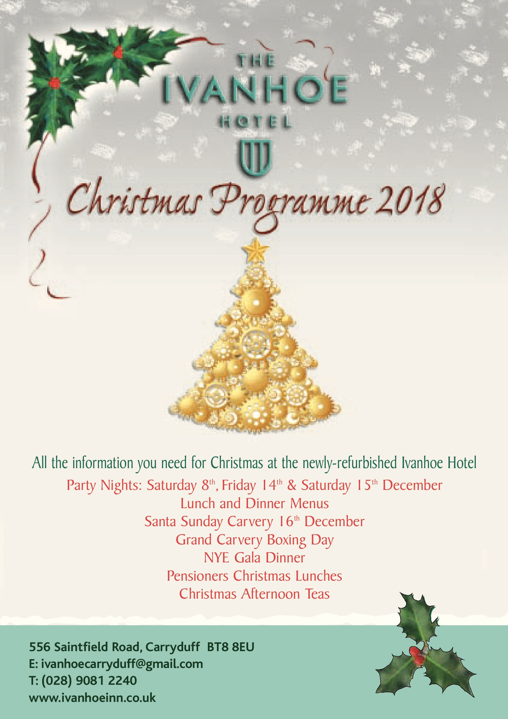 Christmas In The Ivanhoe | Ivanhoe Inn and Hotel