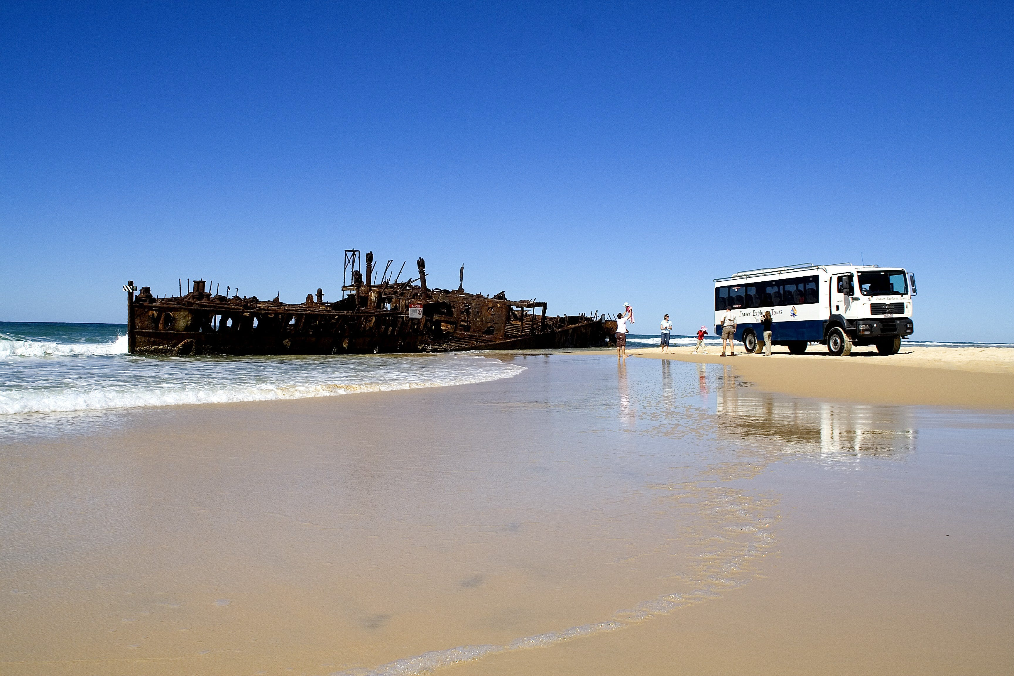 Fraser Island is a must see when visiting Hervey Bay