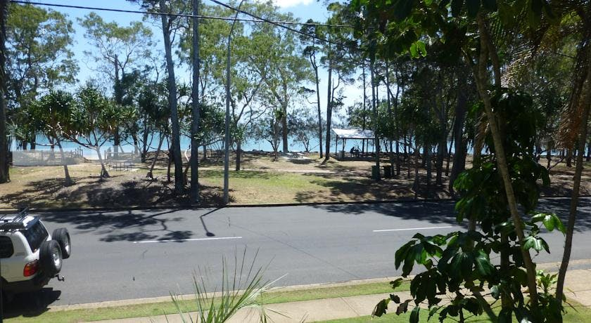Views of the Beach at the Beach Motel Hervey Bay