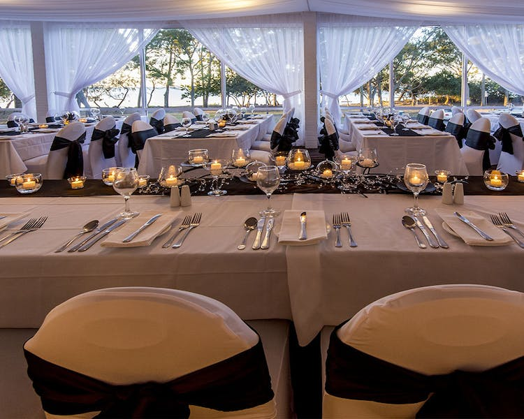 Venue hire in Hervey Bay overlooking Shelly Beach