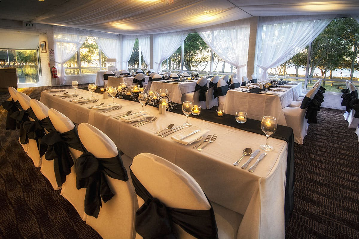 Venue hire in Hervey Bay with complete packages available