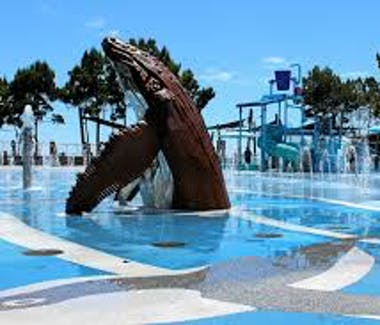 Wetside Waterpark is located on the Charlton Esplanade Hervey Bay.