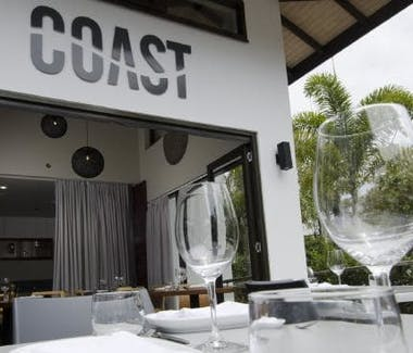 Coast Restaurant and Bar is located a short stroll from the Hervey Bay Motel and is a wonderful dining option