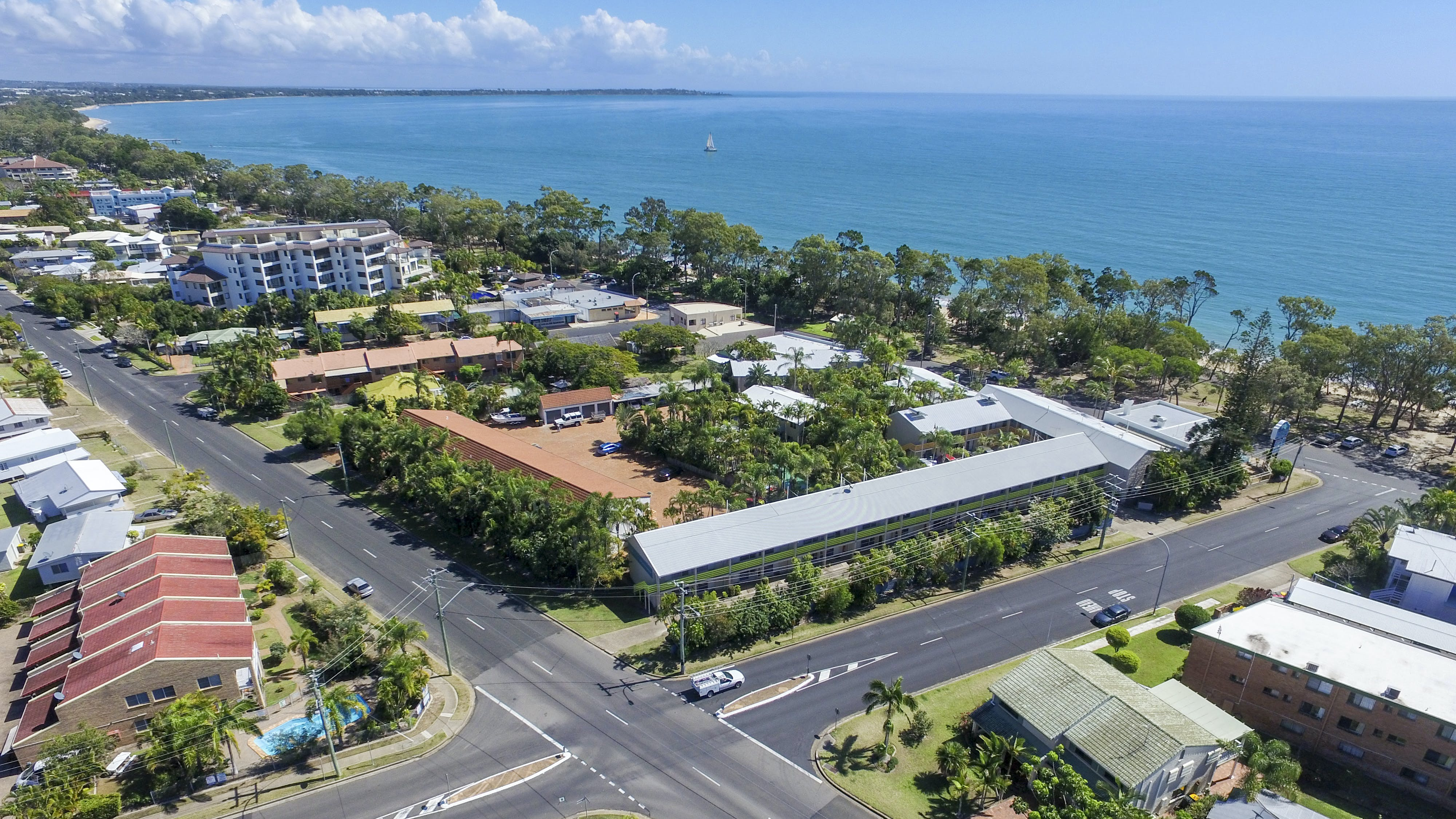 Location of the Beach Motel Hervey Bay in Queensland