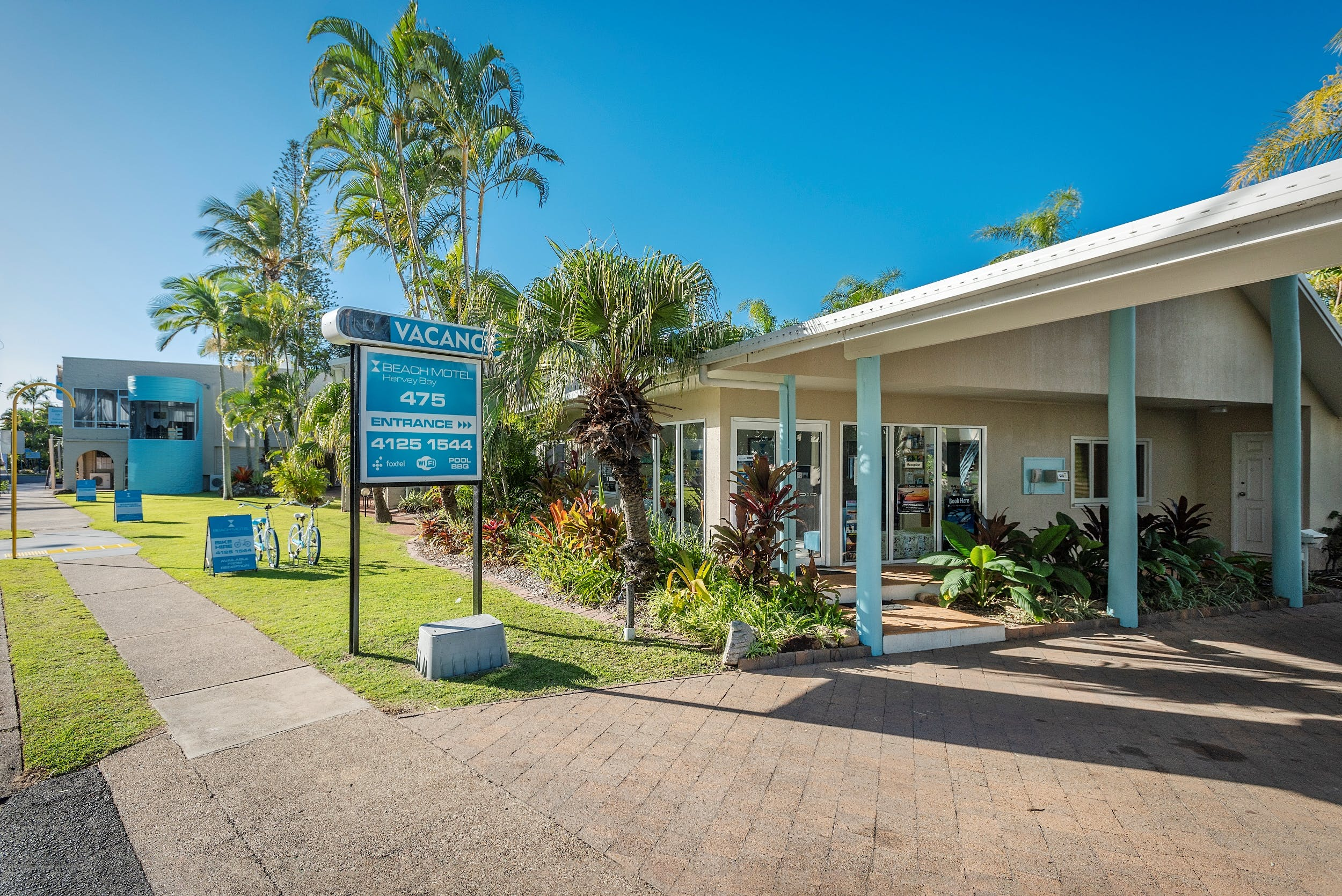 Bike Hire in Hervey Bay at the Beach Motel