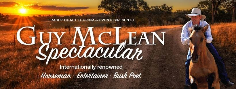 The Guy McLean Spectacular returns to Hervey Bay in April 2020.