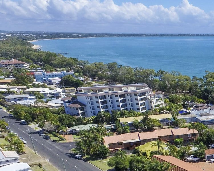 Location of the Beach Motel in Hervey Bay