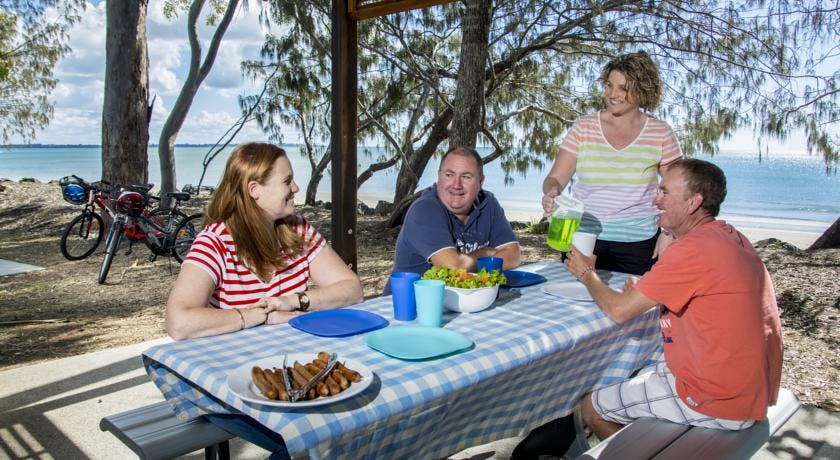 Shelly Beach Hervey Bay is family friendly