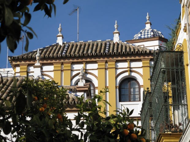spots worth visiting, tapas restaurants and bodegas, museums, flamenco shows, boat in Central Seville