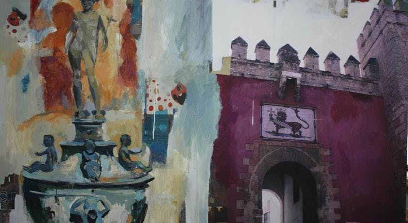 artistic paintings. Aguilas5 SevillaSuites