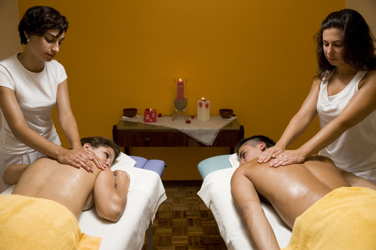 Massagem em Casal no Spa do Hotel Golf Mar