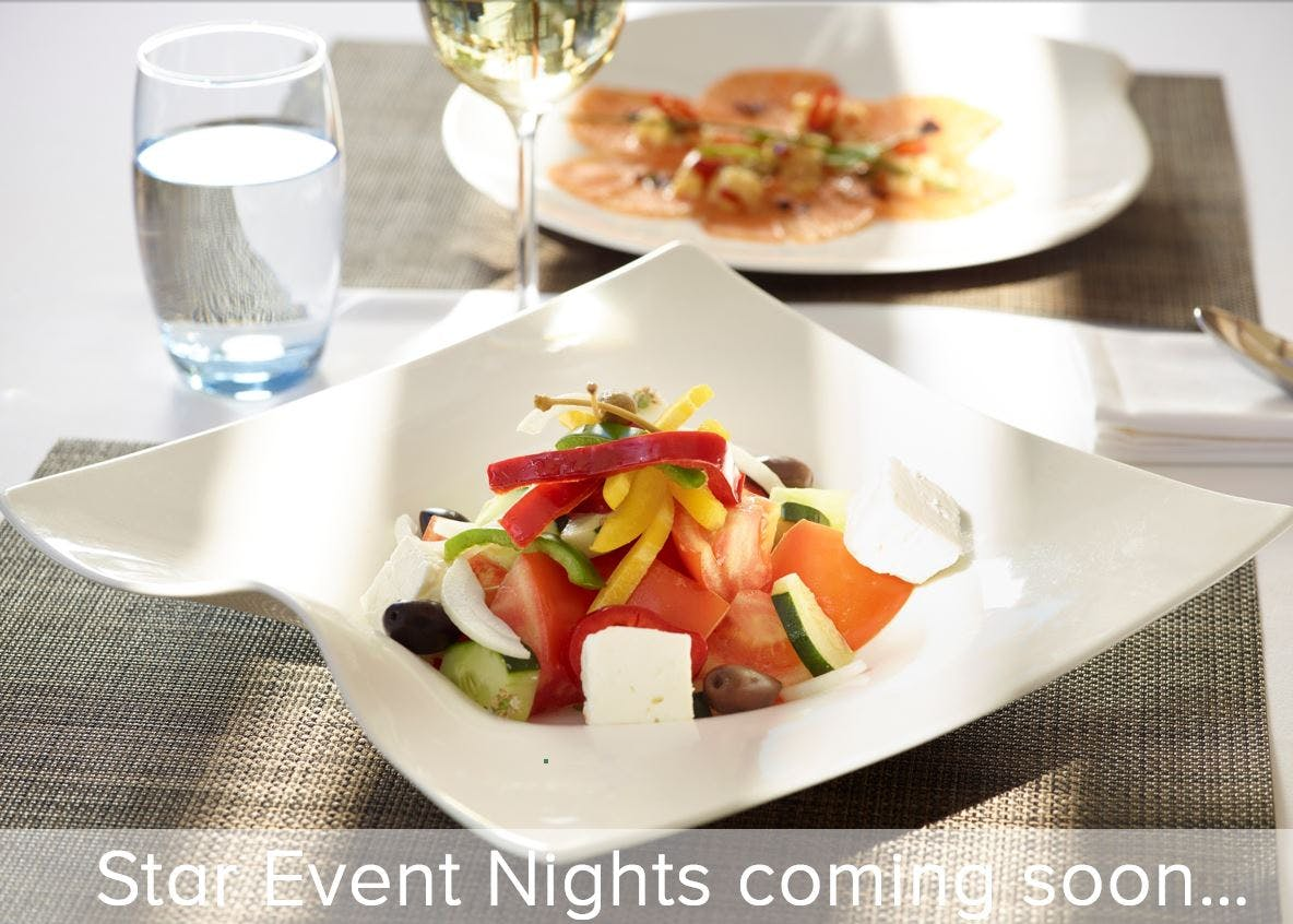 Gourmet Greek salad plate