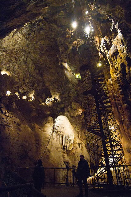 Moaning Cavern - largest public cavern in California