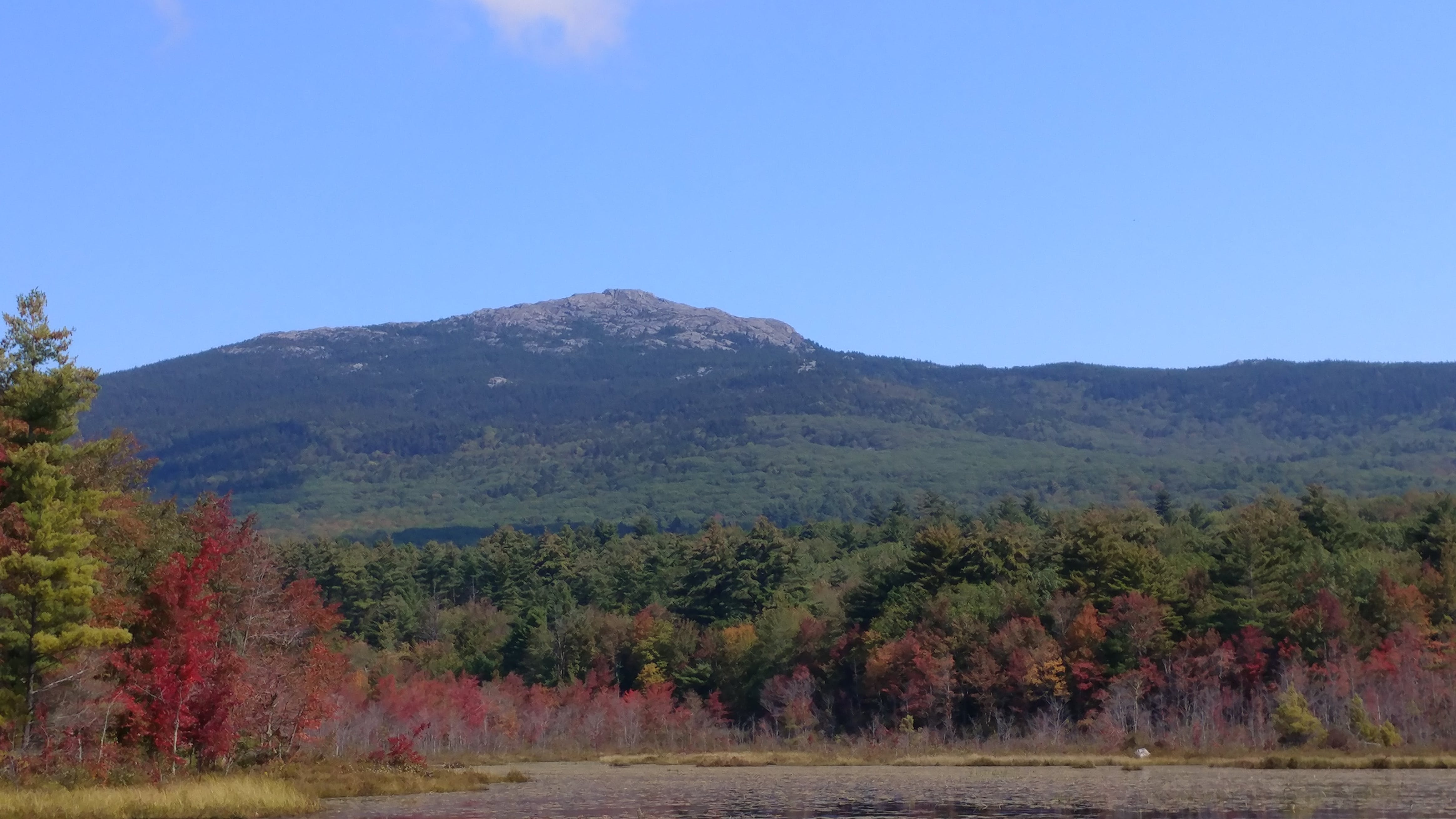 Views of beautiful Mt. Monadnock