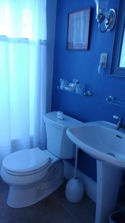 newly renovated ensuite bathroom