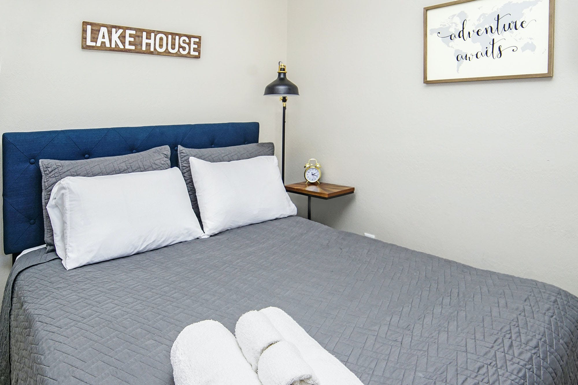 Affordable luxury northern Michigan hotel room