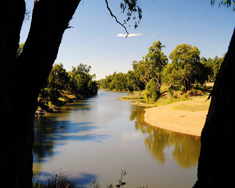 Sandy Beach - A great place for a picnic, swimming, fishing and canoeing. Right in the heart of Dubbo.