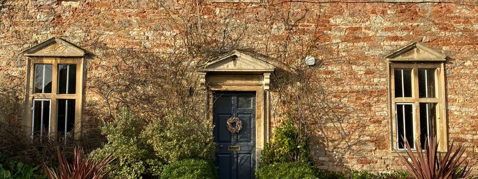Old Parsonage front entrance