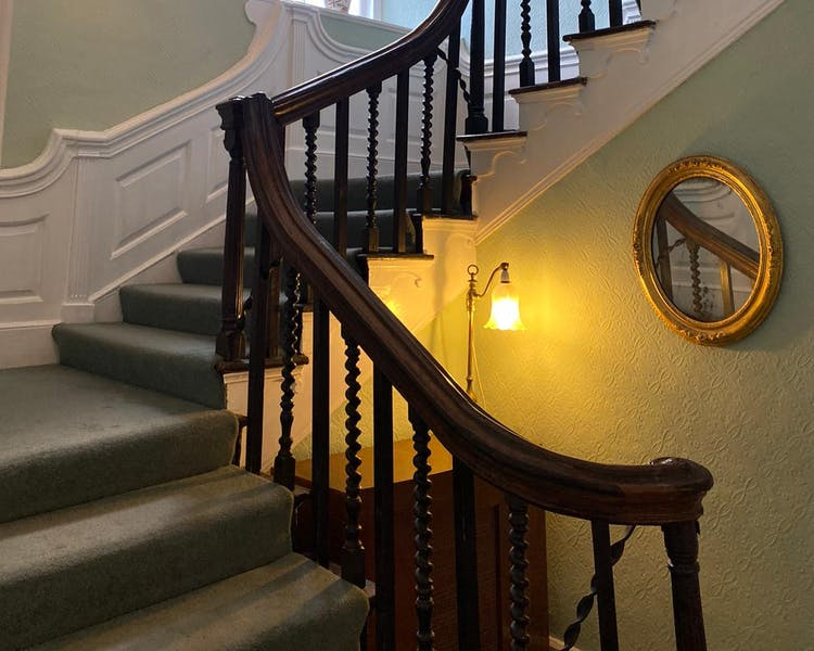 Old Parsonage staircase