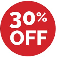 Great weekly rates up to 30% off