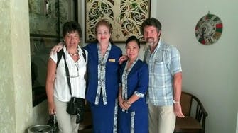 Tina & Kinin from our Front Office with our treasured guests