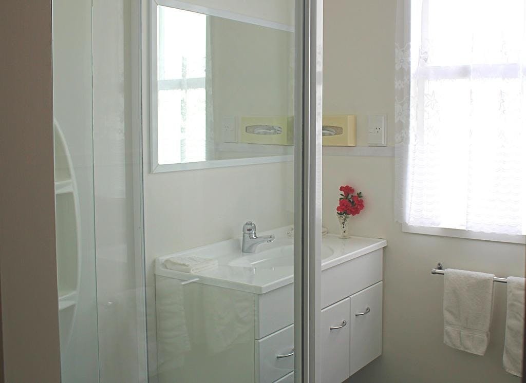 Bathroom in a two bedroom cottage
