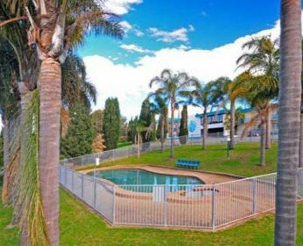 Swimming pool shellharbour resort external view