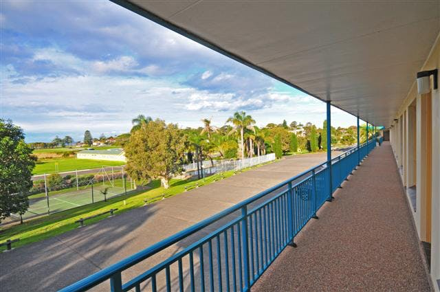 Shellharbour Resort external view balcony from rooms