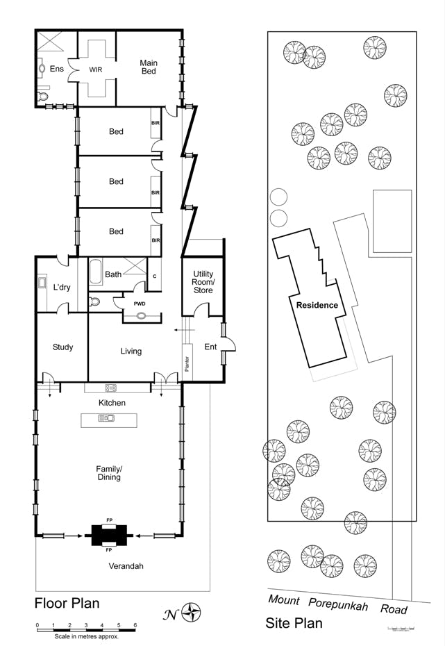 Willie Wagtails floor plan