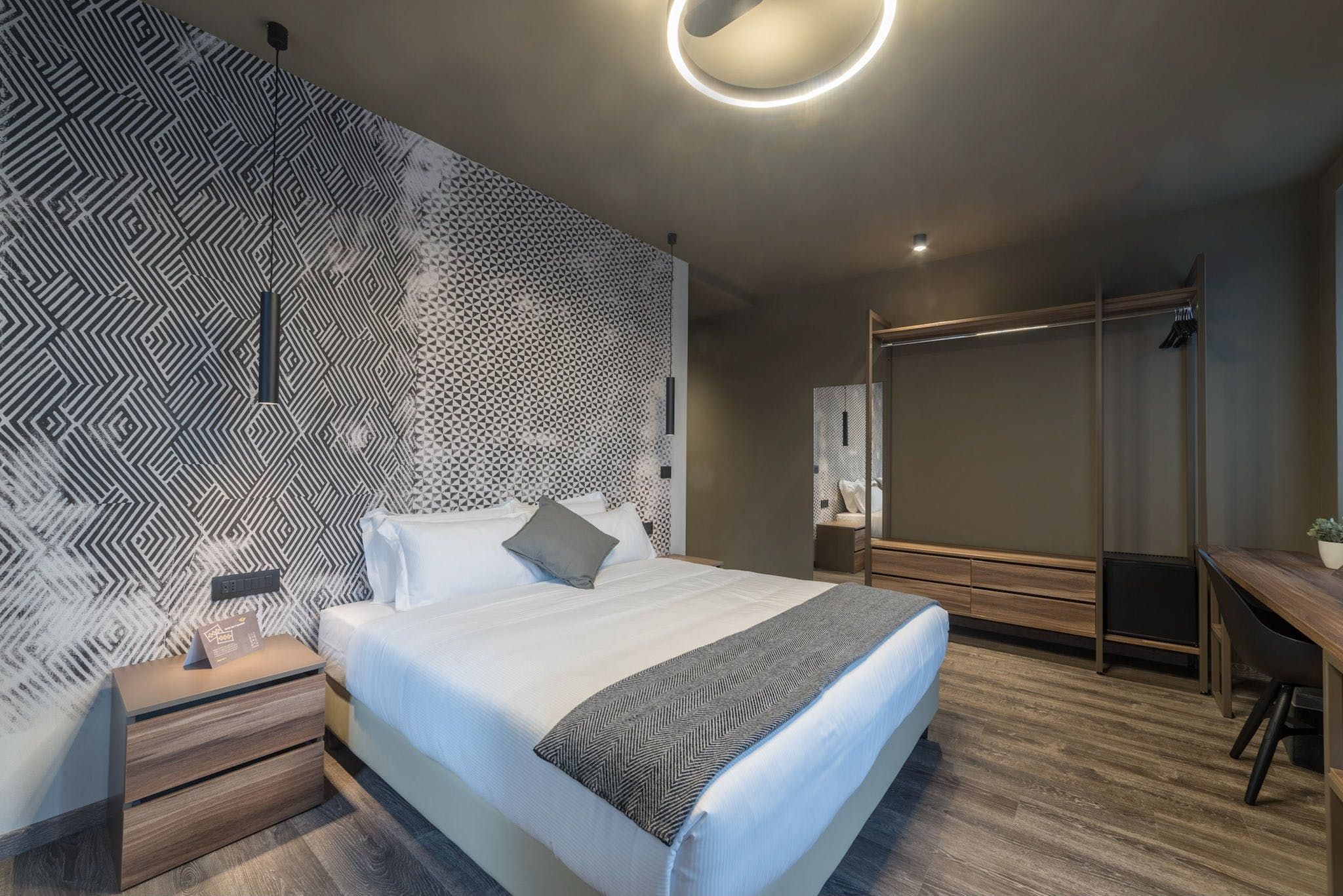 Boutique Room Trieste Hotel Design Letto queen size Double room