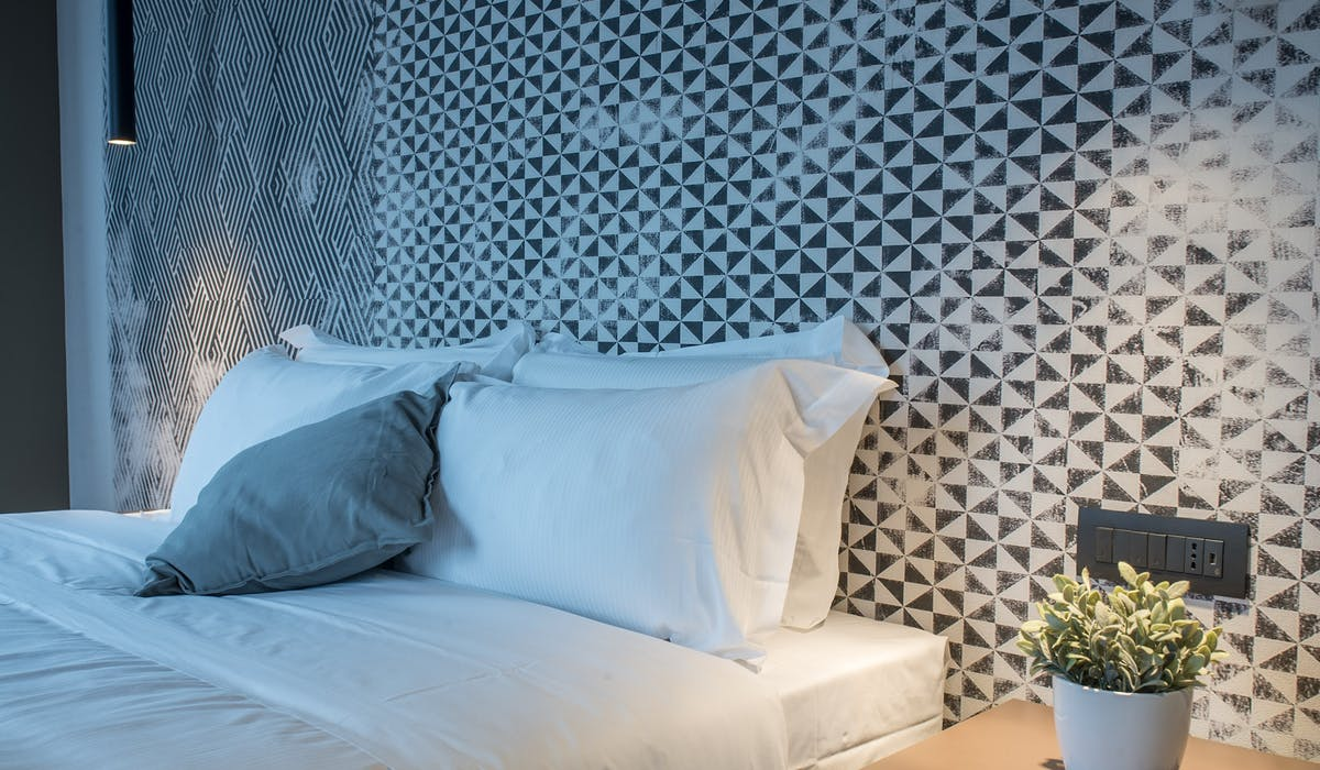 Boutique Room Trieste Hotel Letto Queen size design