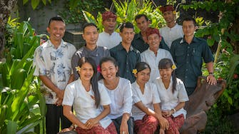 Private villas of bali service team. Butler, engineers, concierge, chef, driver.