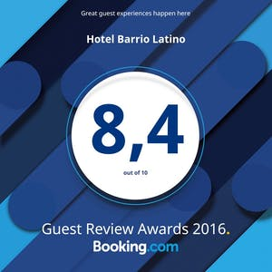 BARRIO LATINO HOTEL PLAYA DEL CARMEN AWARDS