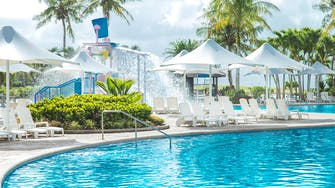 Hotel Pool at LeoPalace Resort Guam