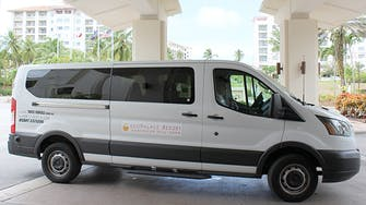 Facility Shuttle Van Service at LeoPalace Resort Guam
