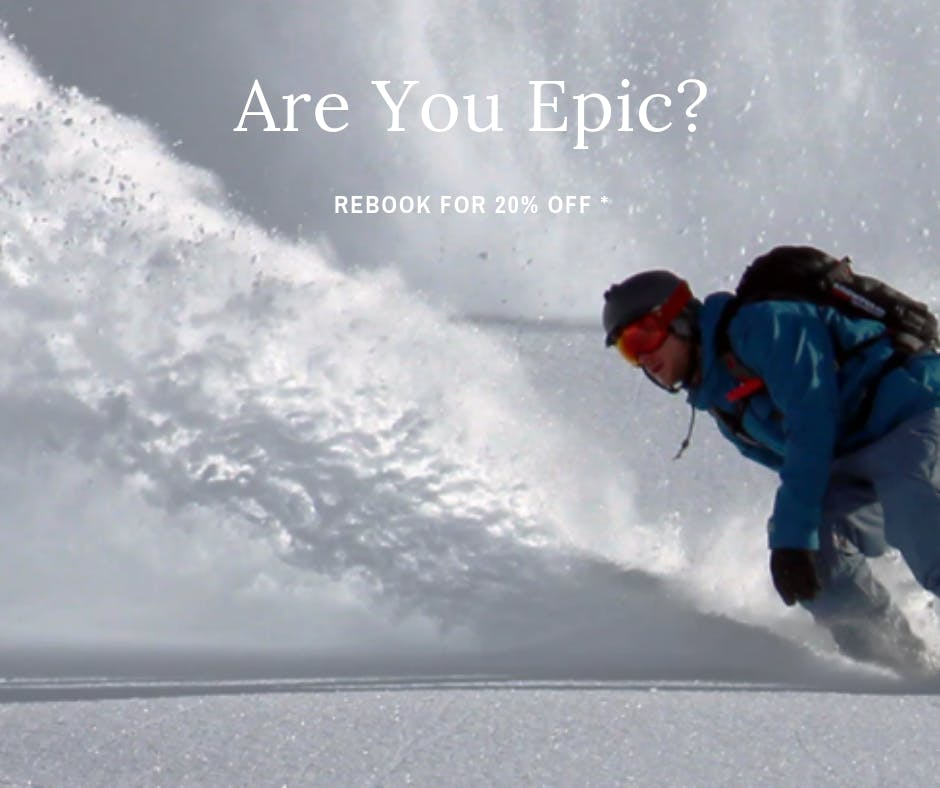 Are you epic? Return Package for Sponars Chalet