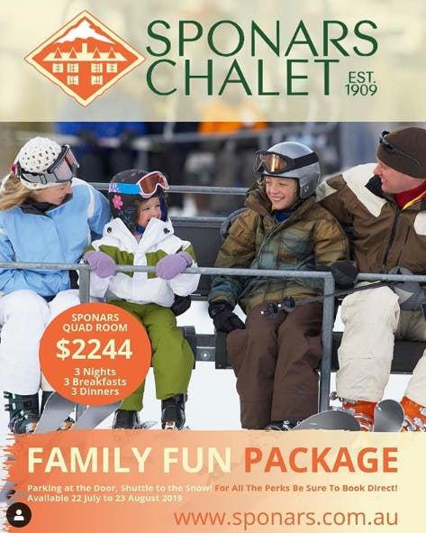 Family Fun Package at Sponars Chalet