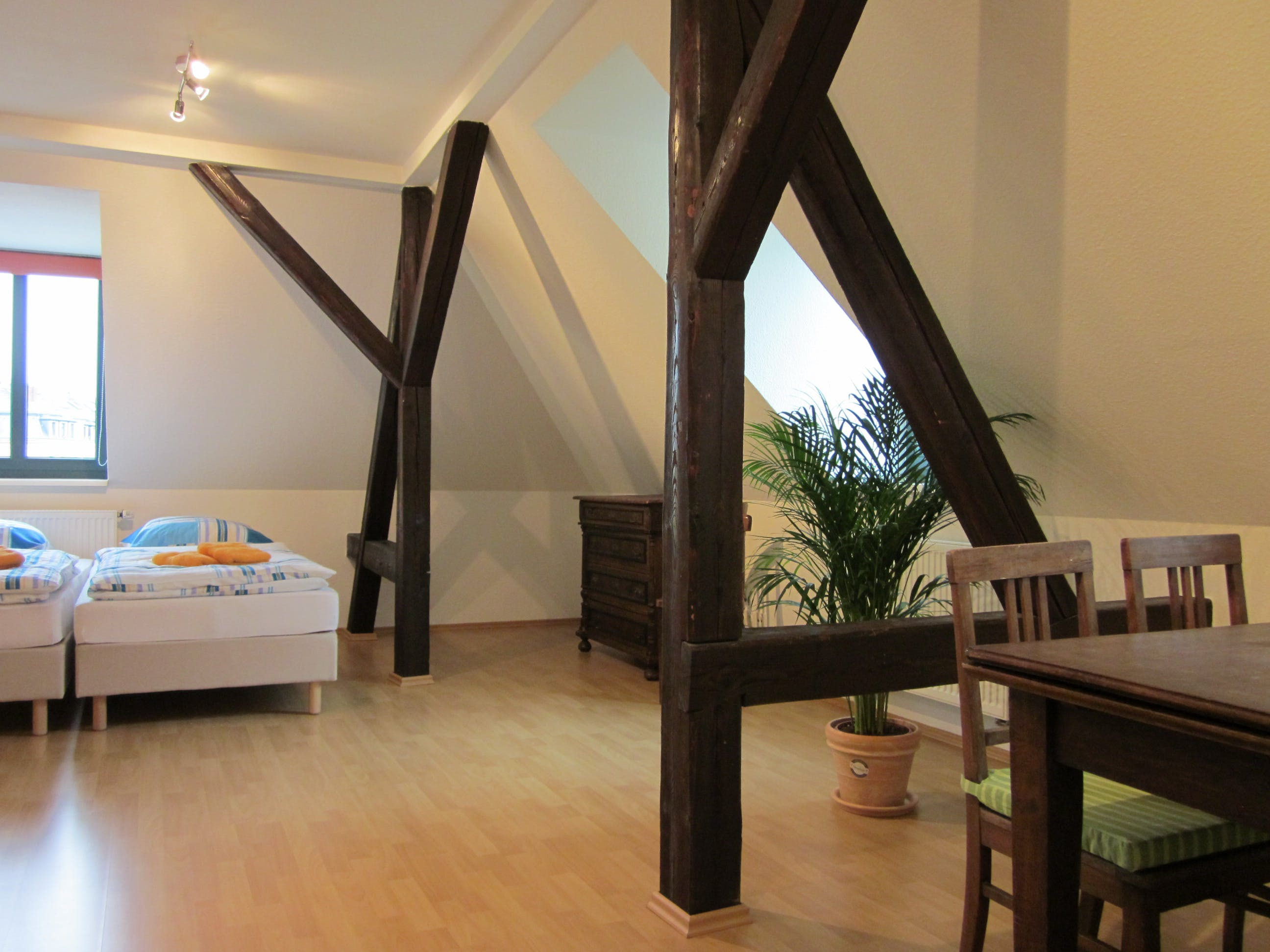 Villa Barbara Dresden - apartment with 2 bed rooms attic