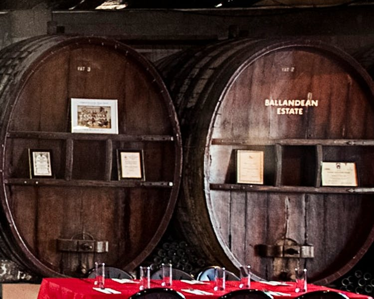 Barrel Room - open for lunch and dinner daily