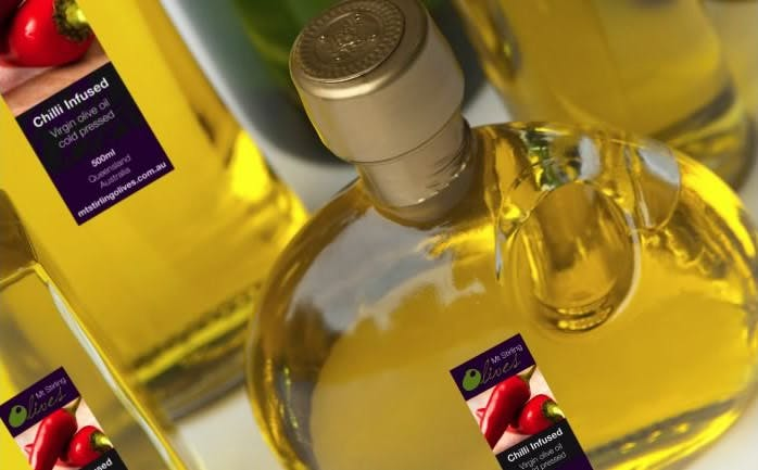 Range of Oils from Mt. Stirling Olives