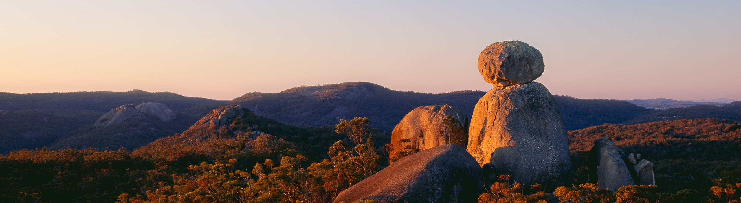 View from the Sphinx at Girraween National Park