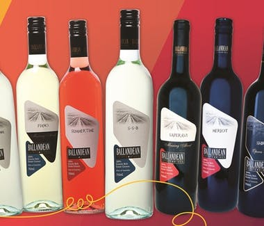 Range of Products from Ballandean Estate Winery