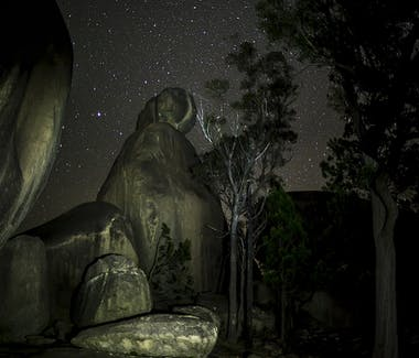Night Sky at Girraween National Park