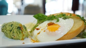 Smashed Avo and eggs never tasted betters than at Vaughan's Inverloch 3996