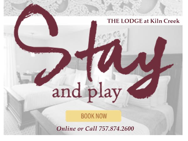 THE LODGE at Kiln Creek - Newport News, Virginia - Hampton Roads Luxury Hotel - Hampton Roads Boutique Hotel
